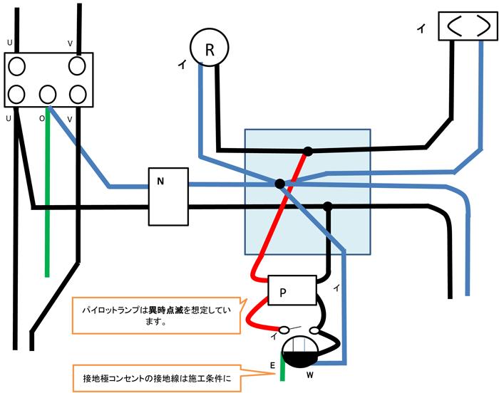 異時点滅複線図 1種